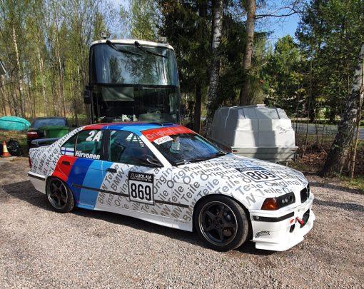 Yliteipattu BMW (OC 1.0 valkoinen)