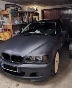 BMW konepellin teippaus OptiCont 3D hiilikuitu