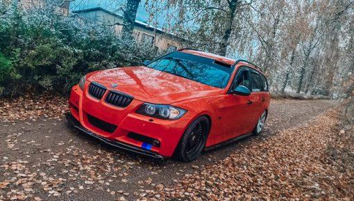 BMW Yliteippaus OptiCont 2.0 Punainen