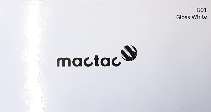 Mactac G01 Gloss White