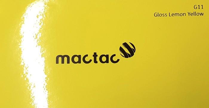 Mactac G11 Lemon Yellow