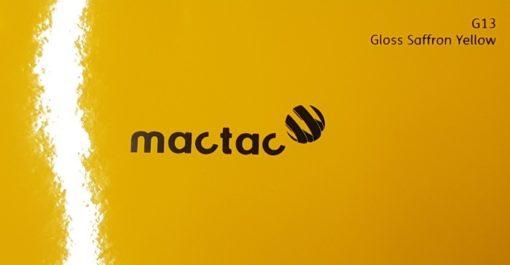 Mactac G13 Gloss Saffron Yellow