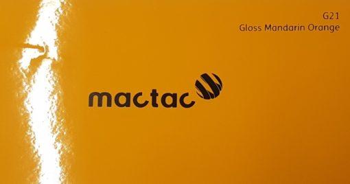 Mactac G21 Gloss Mandarin Orange