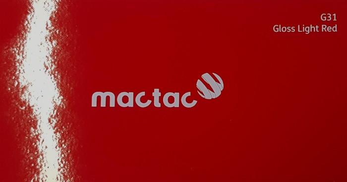 Mactac G31 Gloss Light Red