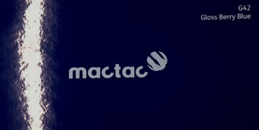 Mactac G42 Gloss Berry Blue