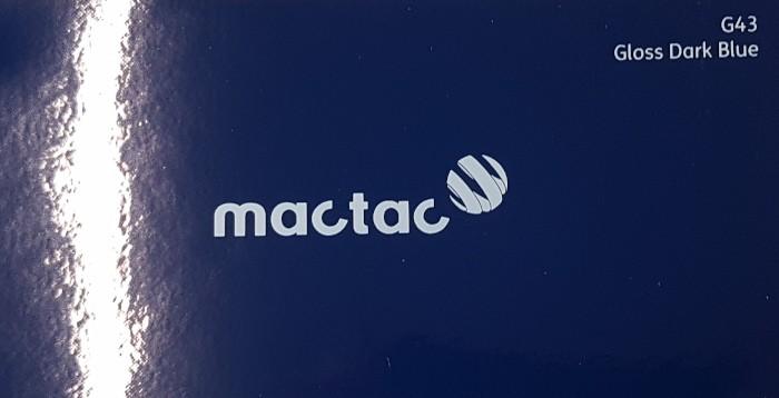 Mactac G43 Gloss Dark Blue