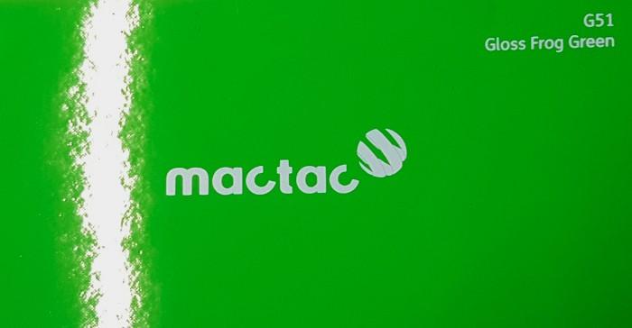 Mactac G51 Gloss Frog Green
