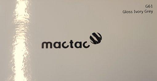 Mactac G61 Gloss Ivory Grey