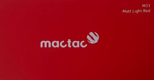 Mactac M31 Matt Light Red