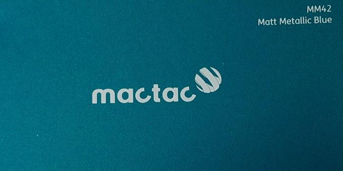 Mactac MM42 Matt Metallic Blue