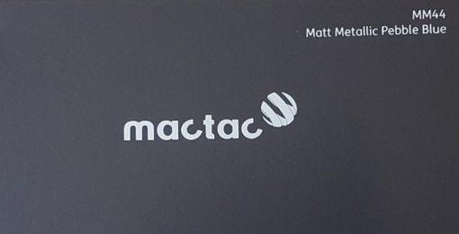 Mactac MM44 Matt Metallic Pebble Blue