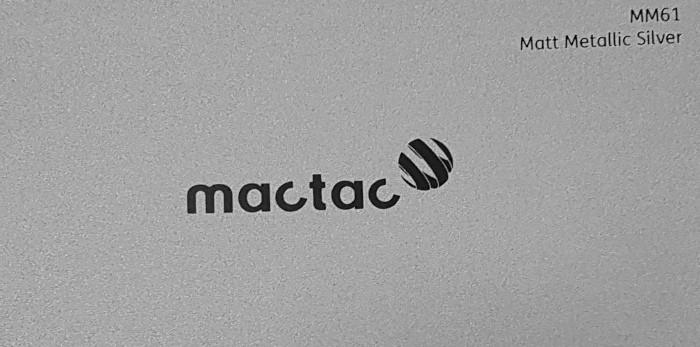 Mactac MM61 Matt Metallic Silver