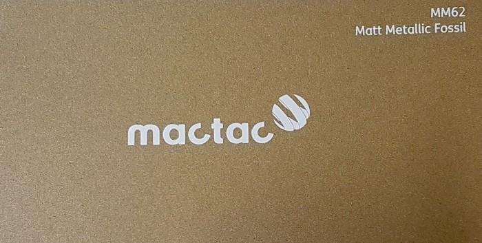 Mactac MM62 Matt Metallic Fossil