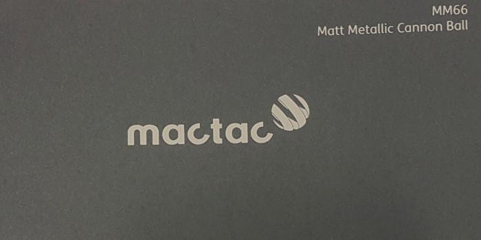 Mactac M66 Matt Metallic Cannon Ball
