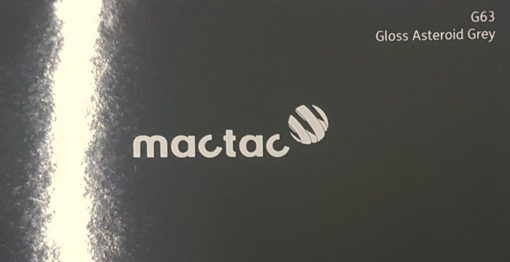 Mactac G63 Gloss Asteroid Grey