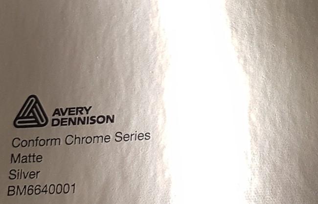 Avery Conform Chrome Matte Silver