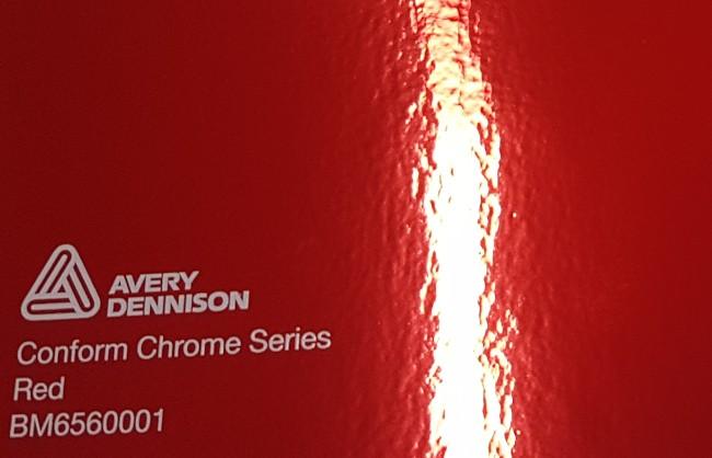 Avery Conform Chrome Red