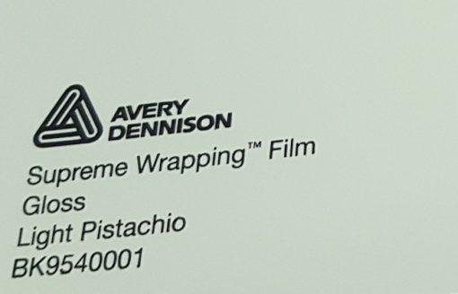 Avery SWF Light Pistachio