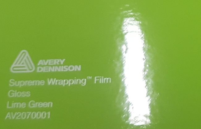 Avery SWF Lime Green