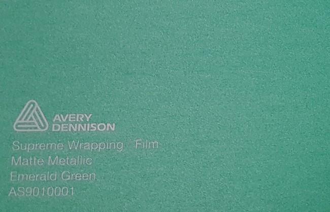 Avery SWF Matte Metallic Emerad Green yliteippaustarra