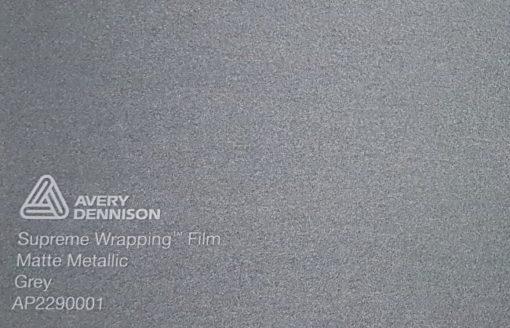 Avery SWF Matte Metallic Grey