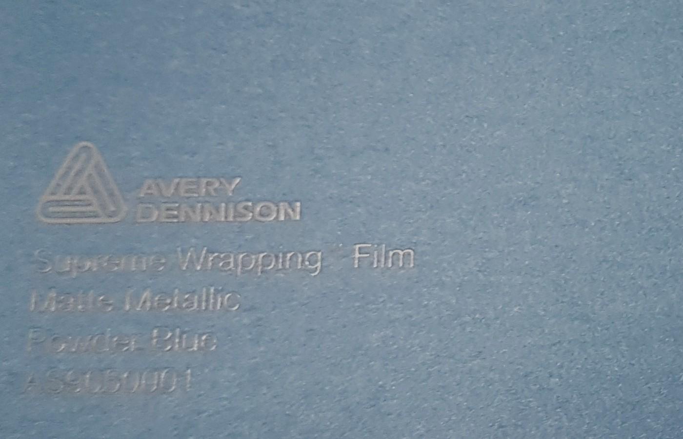 Avery SWF Matte Metallic Powder Blue