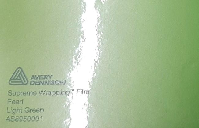 Avery SWF Pearl Light Green