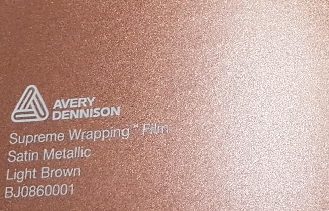 Avery SWF Satin Metallic Light Brown