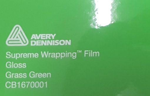 Avery SWF Grass Green