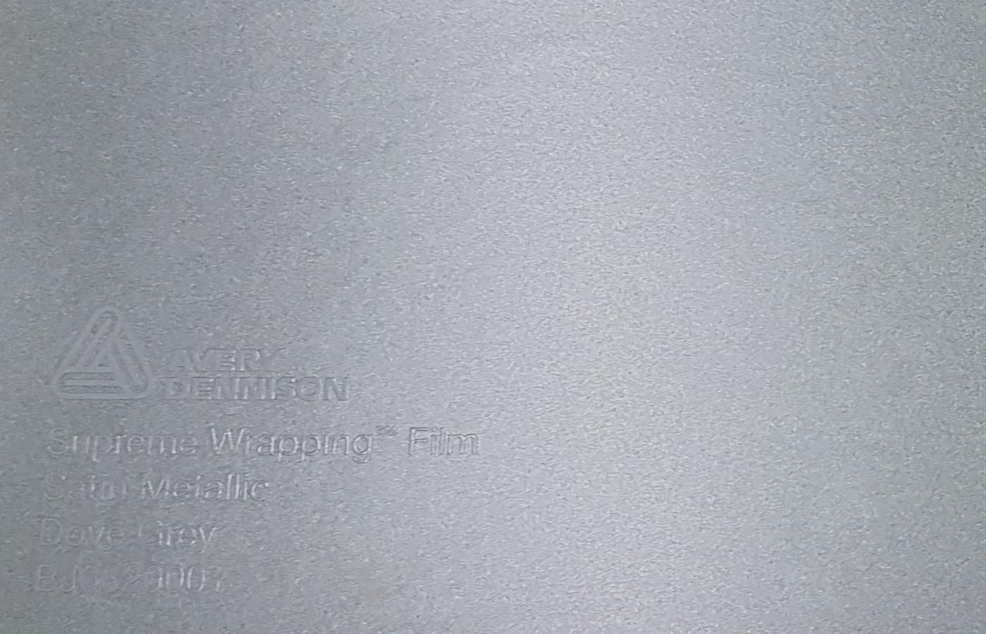 Avery SWF Satin Metallic Dove Grey