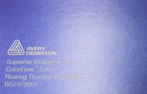 Avery SWF ColorFlow Satin Roaring Thunder