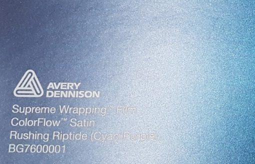 Avery SWF ColorFlow Satin Rushing Riptide