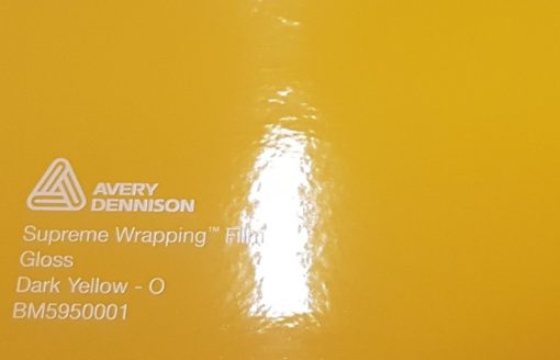 Avery SWF Gloss Dark Yellow - O