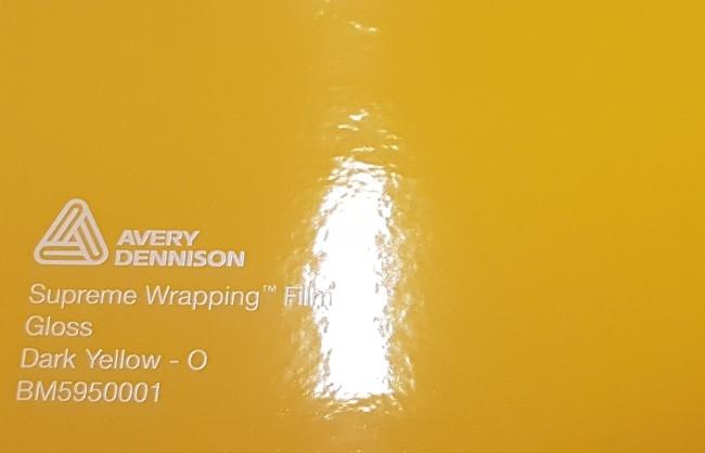Avery SWF Gloss Dark Yellow - O
