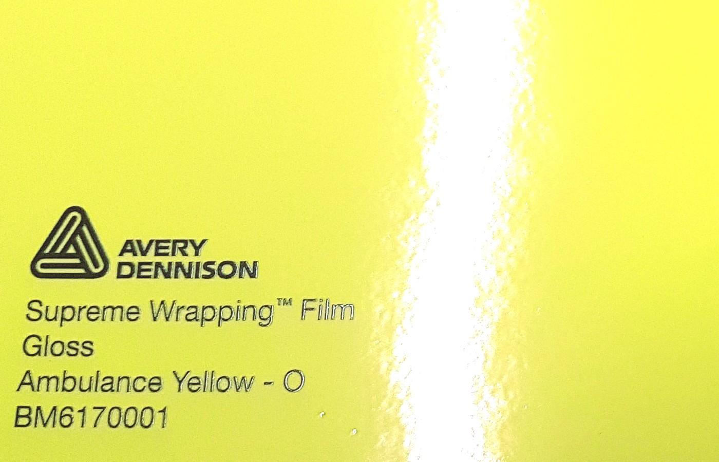 Avery SWF Gloss Ambulance Yellow - O
