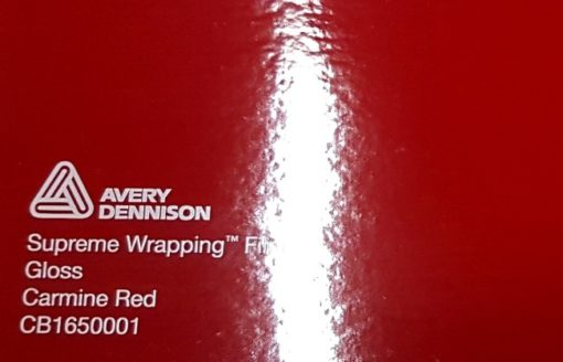 Avery SWF Gloss Carmine Red