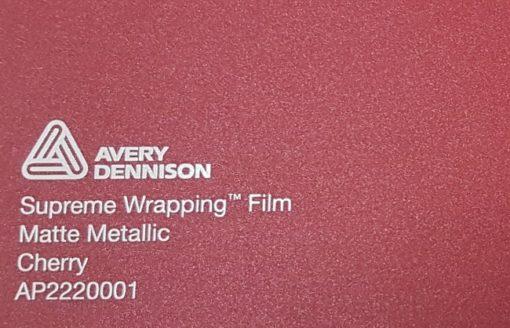 Avery SWF Matte Metallic Cherry