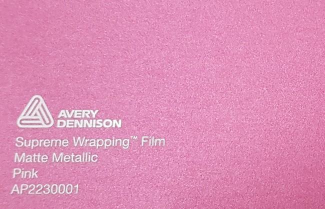 Avery SWF Matte Metallic Pink