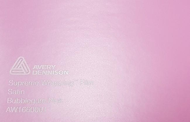 Avery SWF Satin Bubblegum Pink