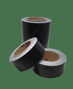 Puolikiiltävä satiini musta chrome delete autoteippi