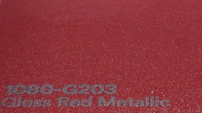 3M 2080 G203 Gloss Red Metallic autoteippi