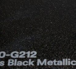 3M 2080 G212 Gloss Black Metallic yliteippauskalvo