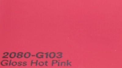 3M 2080 G103 Gloss Hot Pink yliteippaustarra