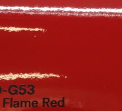 3M 2080 G53 Gloss Flame Red yliteippauskalvo