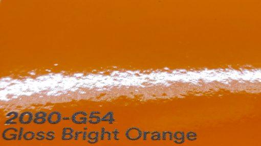 3M 2080 G54 Gloss Bright Orange autoteippi