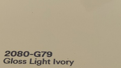 3M 2080 G79 Gloss Light Ivory autoteippi