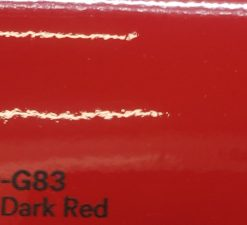3M 2080 G83 Gloss Dark Red yliteippaustarra
