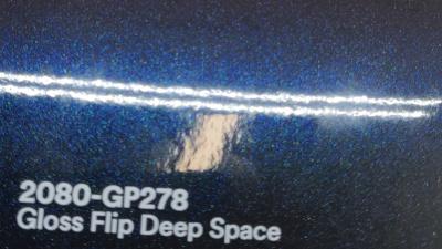 3M 2080 GP278 Gloss Flip Deep Space yliteippauskalvo