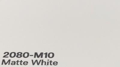 3M 2080 M10 Matte White yliteippaustarra