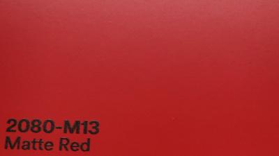 3M 2080 M13 Matte Red yliteippauskalvo